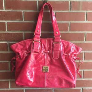 Dooney & Bourke Pink Patent Leather Tote
